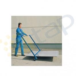 Carrello per movimentazione rampe