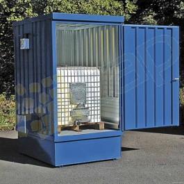 Opzione vernice blu per box di stoccaggio ref. 57010