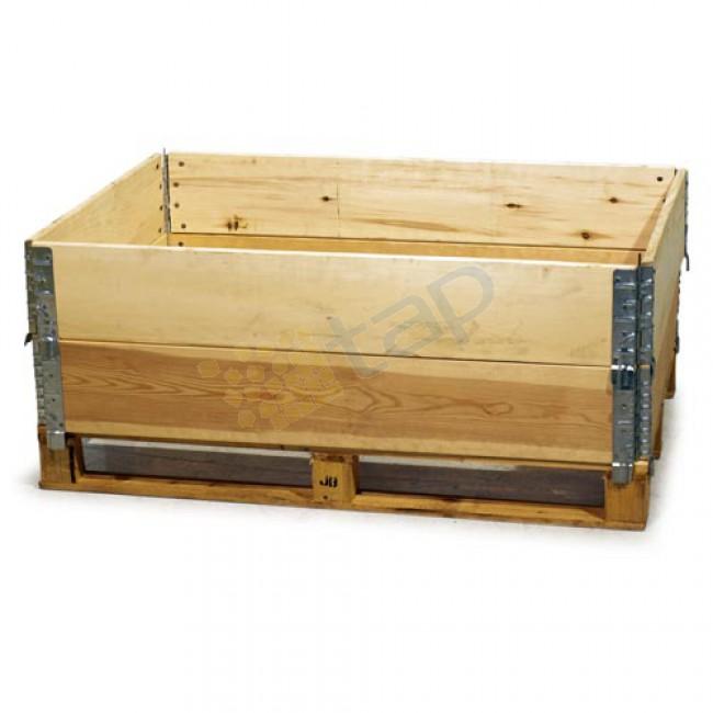 Bancali o pallets paretali e collars - Imballaggi industriali