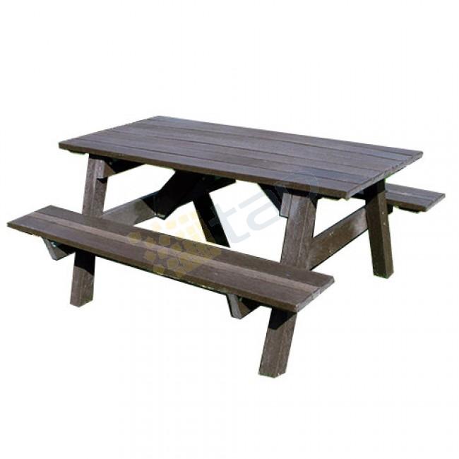 Tavolo da picnic di plastica riciclata - Tavolo di plastica ikea ...