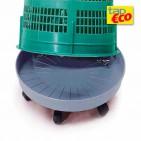 Base con ruote per il supporto porta sacco da 110 litri