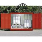 Opzione vernice rossa per box di stoccaggio ref. 57012