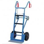 Carrello per trasporto elettrodomestici ruote gonfiabili