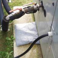 10 cuscini assorbenti per idrocarburi