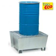 Vasca di contenimento per 1 fusto con griglia Wireline®