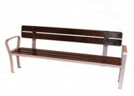 Panchina laminare rinforzata di legno