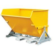 Benna basculante automatica gialla