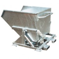 Benna basculante automatica zincata