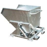 Benna basculante automatico zincato