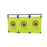 Pannello per barriera rimovibile