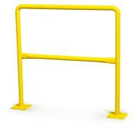 Barriera di sicurezza verniciata - Lunghezza: 2 m,  Ø: 40 mm