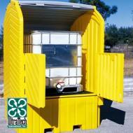 Box di stoccaggio e ritenzione in PEAD per 1 GRG/IBC