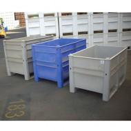 Cassa pallet blu 650 litri