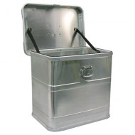 Contenitore in alluminio 40 litri con coperchio