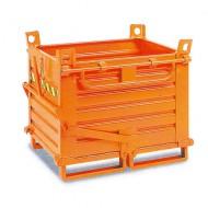 Contenitore con fondo rimovibile 2 pannelli 520 litri
