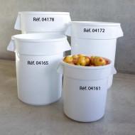 Contenitore rotondo adatto per usi alimentari