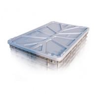 couvercle pour caisse plastique 520L
