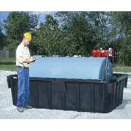 Vasca di raccolta liquidi in PEAD per cisterna - 4164 lt