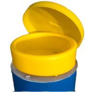 Imbuto polivalente di PEAD per fusti con coperchi