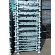 Manurack semplice fondo forato zincato 1200x1000 mm