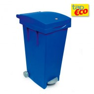 Contenitore da 80 litri blu