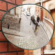Specchio di sicurezza ovale