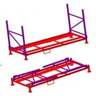 Pallet a misura per stoccare i pneumatici  (camioncino PA8)