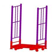 Pallet a misura per lo stoccaggio di pneumatici (PP0)