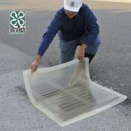 Placca di otturazione quadrata trasparente 1120 mm²