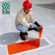Placca di otturazione per tombino reversibile in poliuretano 458x1474 mm.