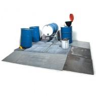 Vasca di raccolta per liquidi in acciaio