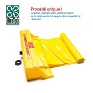 Cassa con borsa in polietilene per piattaforma