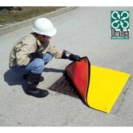 Tappeto copri tombino rinforzato a doppio strato 1220x1220 mm.