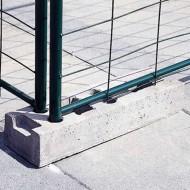 Blocco di cemento per barriera di separazione