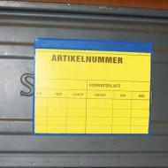 Porte étiquette aimanté A4