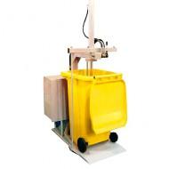 Pressa per compattare residui  240/360 litri