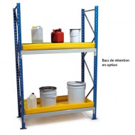Scaffalatura semi pesante - Lunghezza 1250 mm Elemento di base