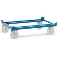 Carrello con ruote in poliammide per pallet
