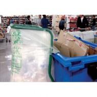 Sacchi trasparenti per i rifiuti 400 lt