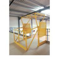 Sistema di sicurezza per stoccaggio su piattaforme
