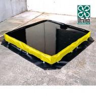 Vasca di raccolta flessibile capacità litri 677.
