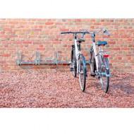 Supporto murale per biciclette 5 posti.