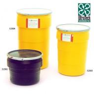 Copri fusto in PEAD 113 litri