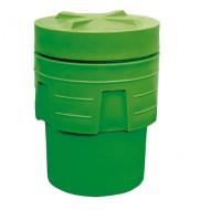 Sovrabidone di plastica 250 litri