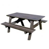 Tavolo da picnic di plastica riiclata