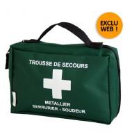 Valigetta di primo soccorso, flessibile, per i lavoratori di metallo.